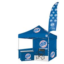 E-Z UP Eclipse II canopy with flag ...  sc 1 st  Sports Facilities Group Inc. & E-Z UP Canopies shade structures and accessories. | Sports ...